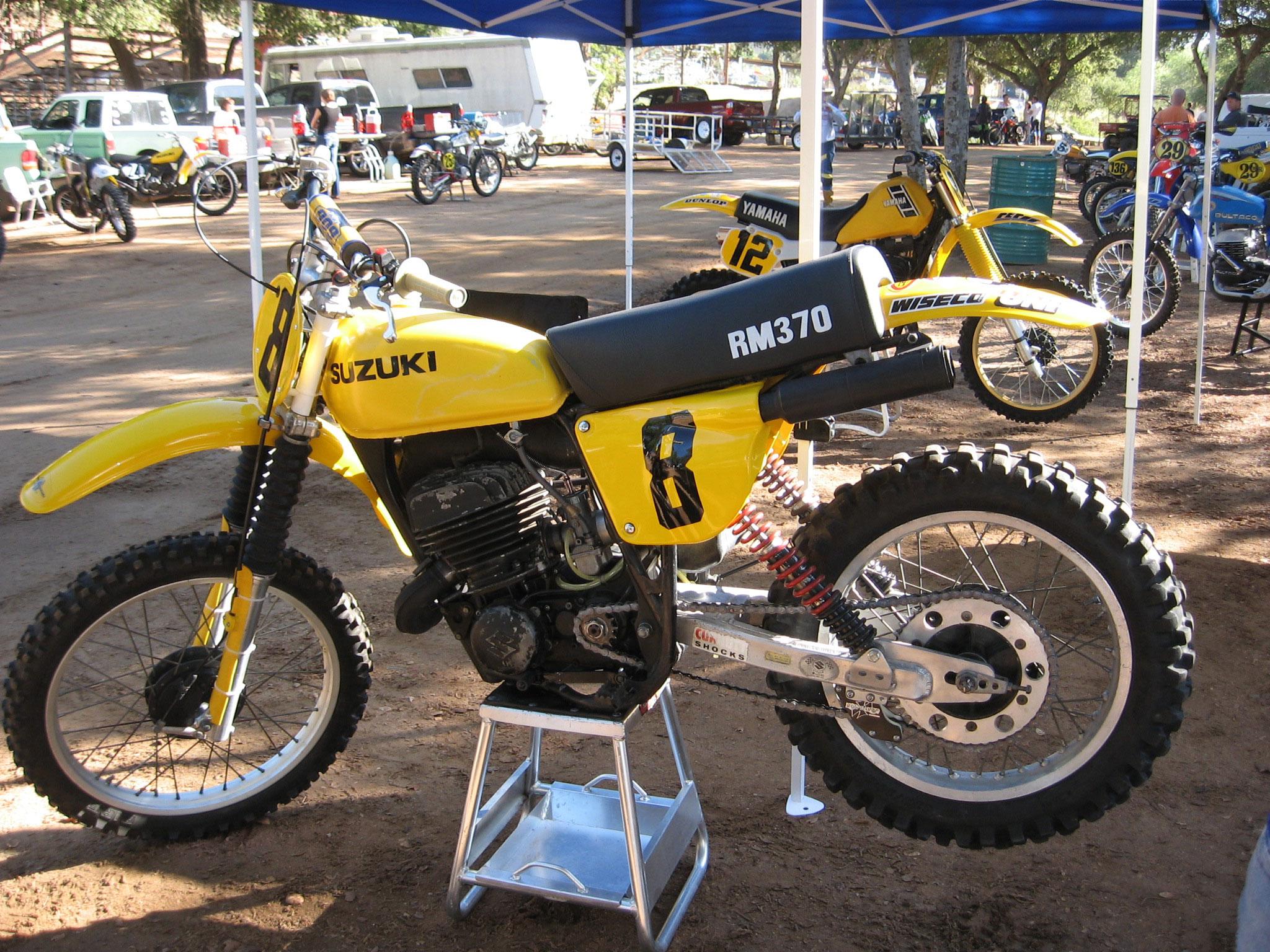 Suzuki Rm 370 1977