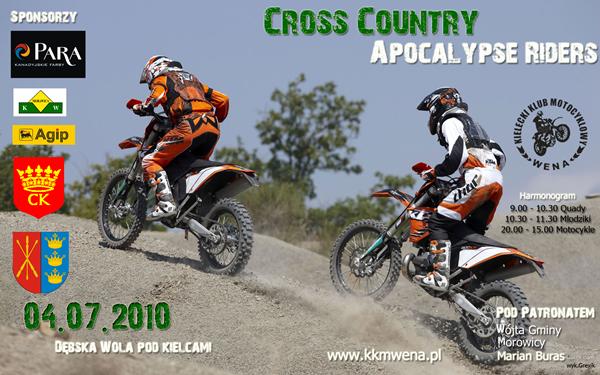Cross Country Apocalypse Riders 2010