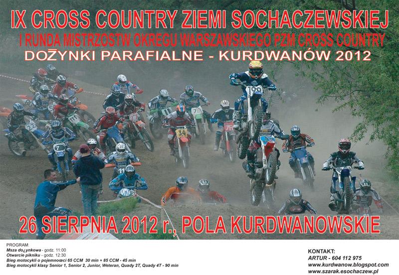Cross Country Kurdwanów 2012