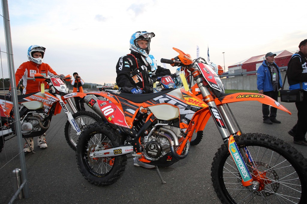 Eero Remes ISDE 2012, KTM Images