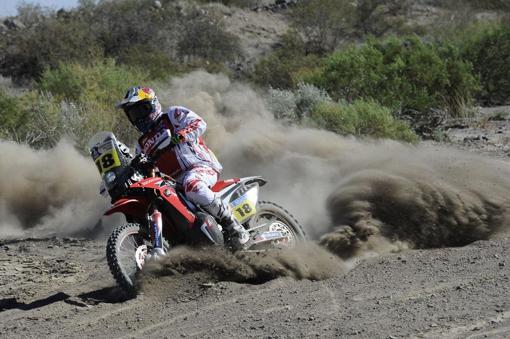 Sunderland - Honda CRF 450 Rally - Dakar 2014