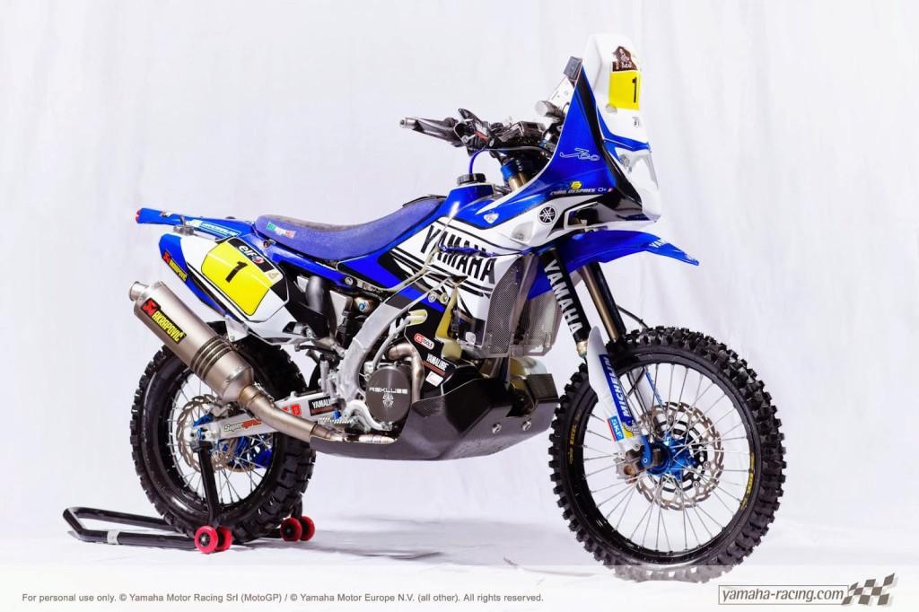 Yamaha 450 Rally Dakar 2014