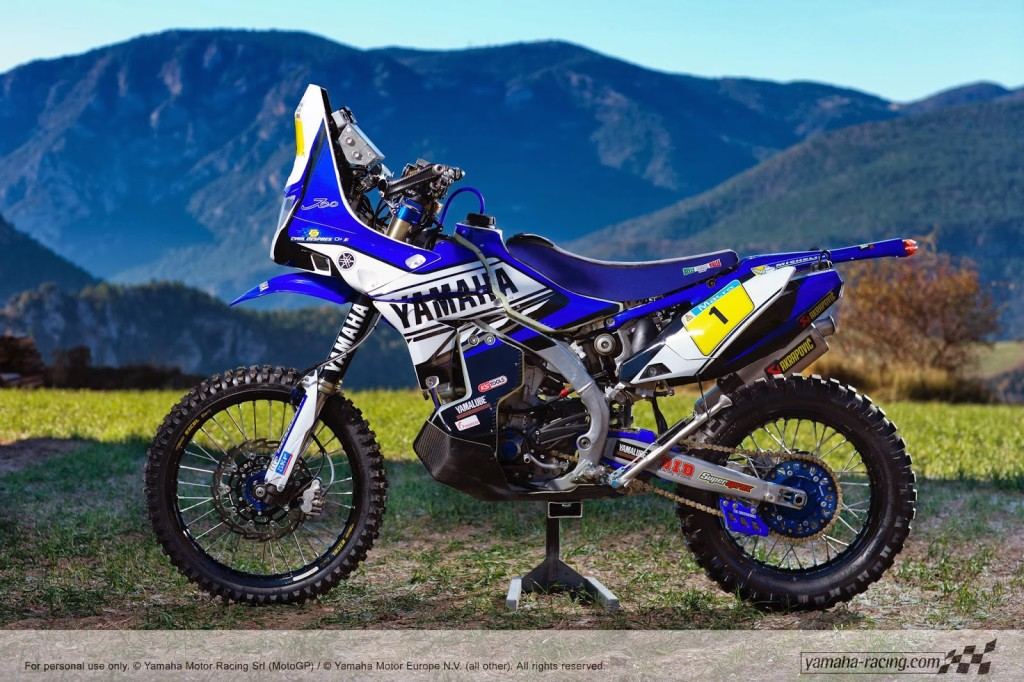 Yamaha 450Rally Despres Dakar 2014