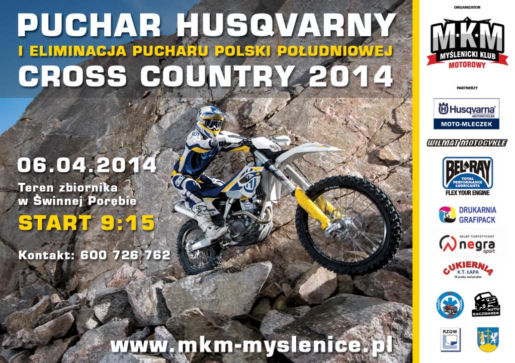 Cross Country Puchar Husqvarny 2014