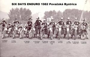 Polska reprezentacja Six Days 1982