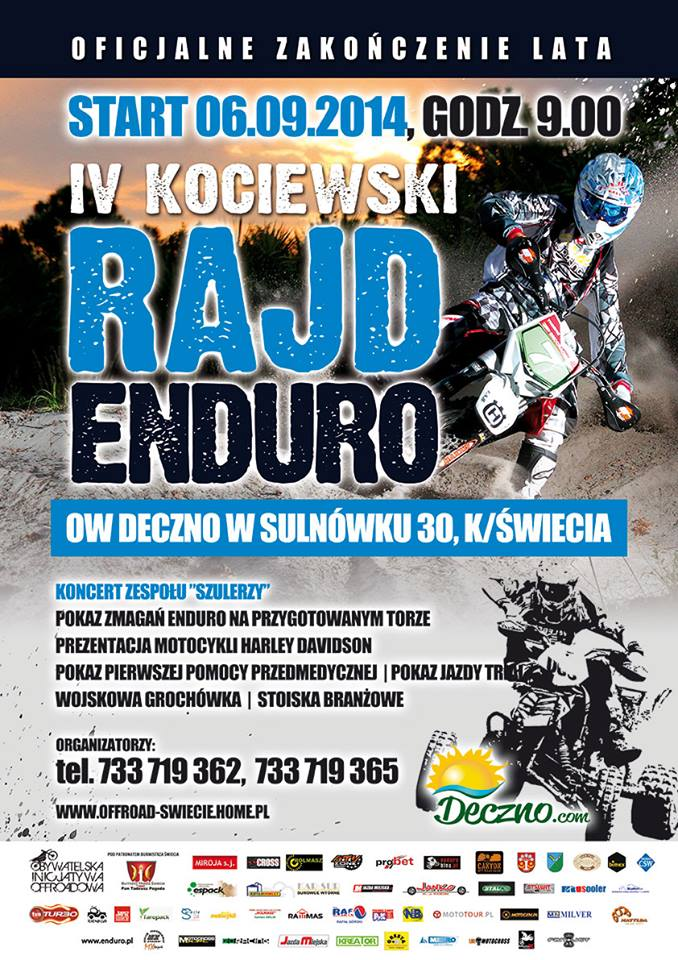 IV Kociewski Rajd Enduro 2014