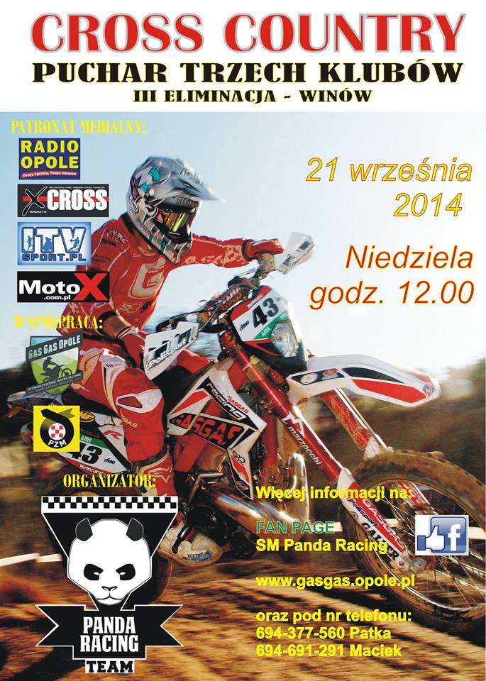 Cross Country Winów 21.09.2014