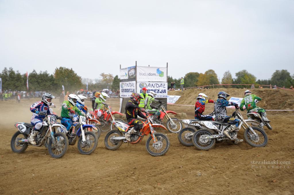 Start - Motocross Mysiadło 2014
