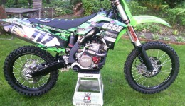 Motocykl po regulacji w Szukiel Racing Suspension