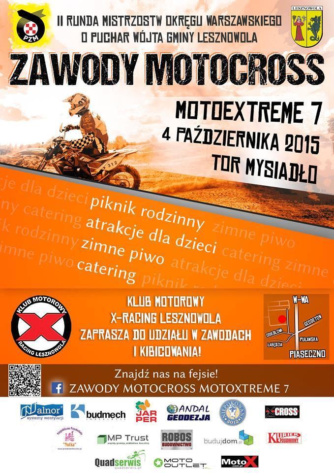 Motoextreme 7 Mysiadło 4.10.2015
