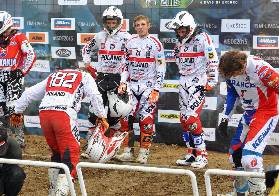 ISDE 2015 - Team Poland - Day 6