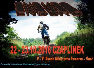 Mistrzostwa Pomorza Enduro - Czaplinek 2016