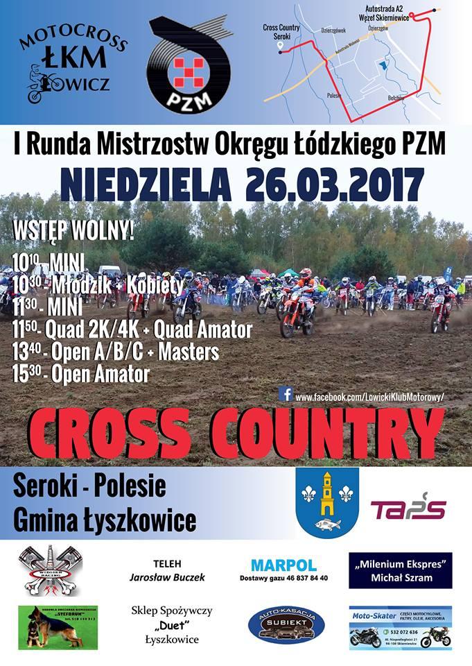 I Runda Mistrzostw Okręgu Łódzkiego PZM w Cross Country